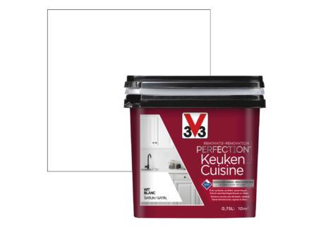 V33 Perfection renovatieverf keuken zijdeglans 0,75l wit