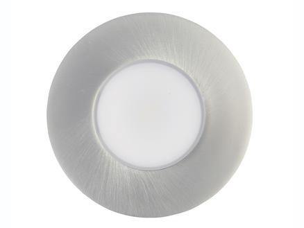 Jedi Performa spot LED encastrable 4,3W nickel