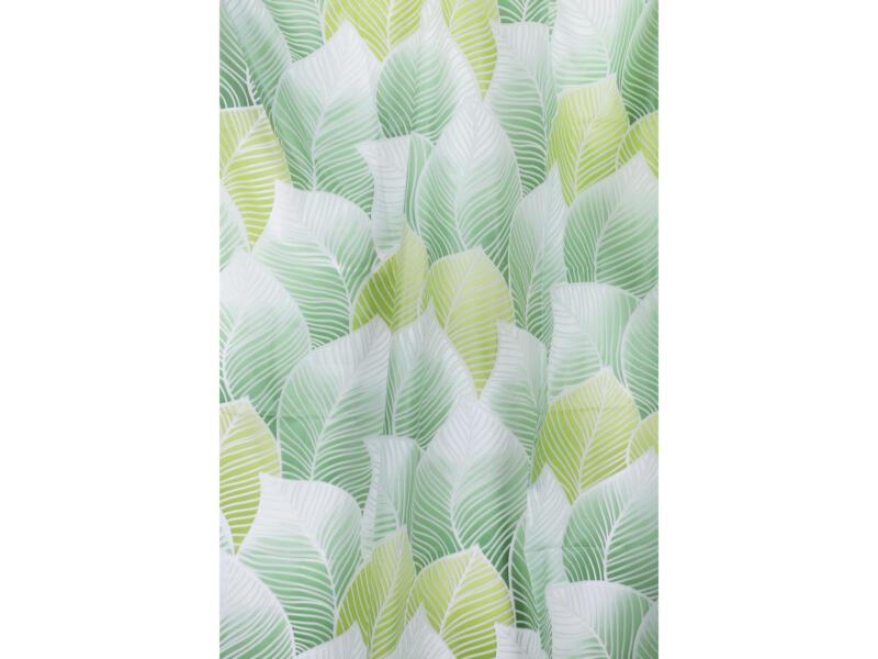 Differnz Peva Greens rideau de douche 180x200 cm vert
