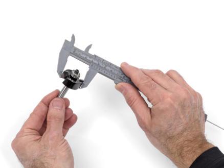 Kreator Pied à coulisse 15cm PVC