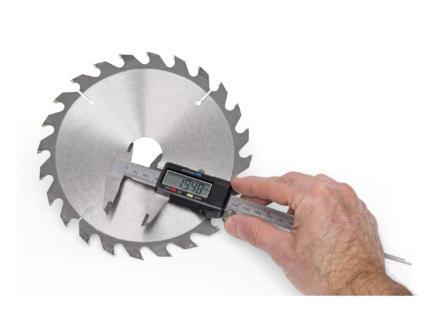Kreator Pied à coulisse digital 15cm acier