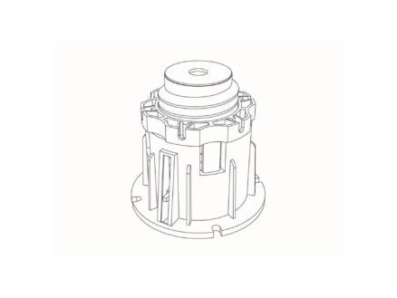 Allibert Pieds de douche 8,2-14 cm pour receveur de douche 5 pièces
