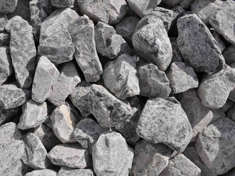 Giardino Piëmonte grind 50-90 cm 620kg grijs
