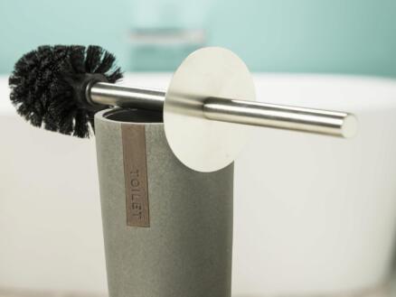 Sealskin Pierra brosse WC avec support polyrésine gris
