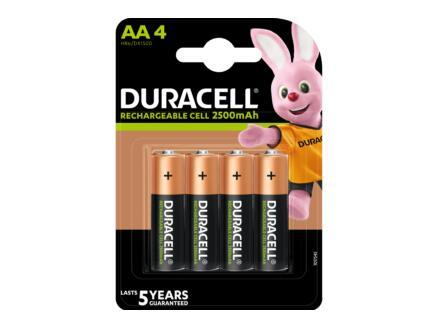 Duracell Pile NI-MH AA 1950mAh 4 pièces
