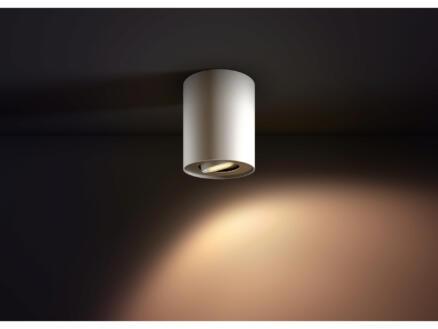 Philips Hue Pillar LED plafondspot GU10 5,5W wit