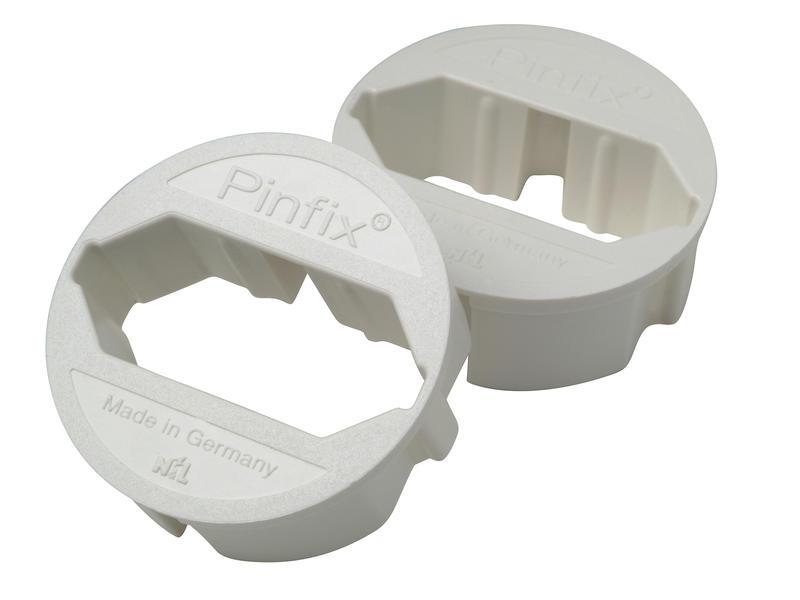Pinfix blanc 2 pièces