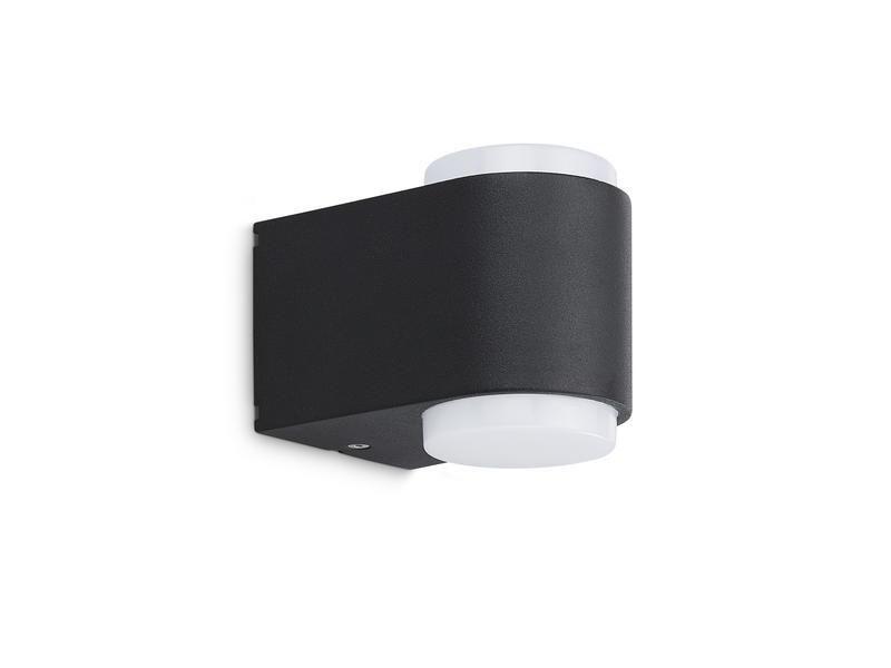 Prolight Pinto applique murale extérieure LED up/down 6W noir