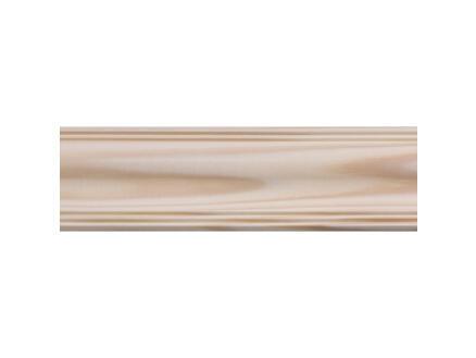 Plafondlijst 28x36 mm 270cm grenen