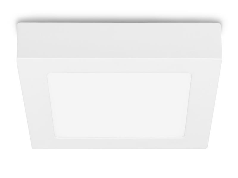 Prolight Plafonnier LED carré 12W