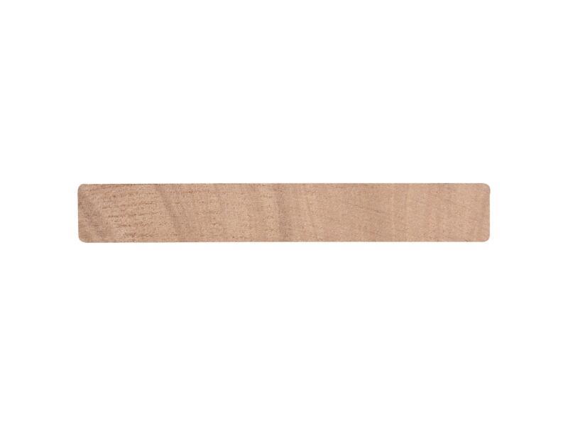 Planche rabotée bois dur 27x190 mm 240cm