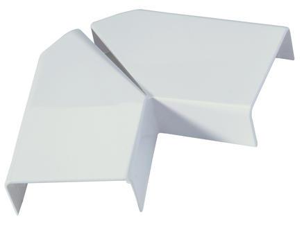 Legrand Platte hoek DLP 40x16 mm wit