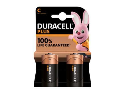 Duracell Plus pile alcaline C 2 pièces