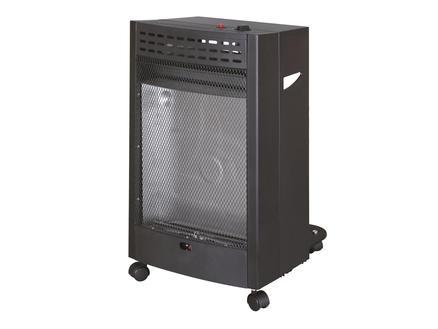 Prolight Poêle au gaz céramique Aita 2000-4200W noir