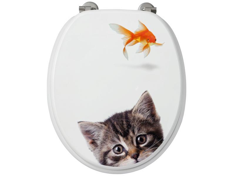 Allibert Poisson & Chat abattant WC
