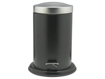 Sealskin Poubelle à pédale Acero 3l inox noir