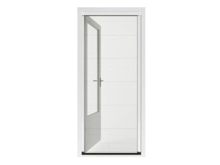 CanDo Premium porte moustiquaire plissée 96x206-209 cm blanc