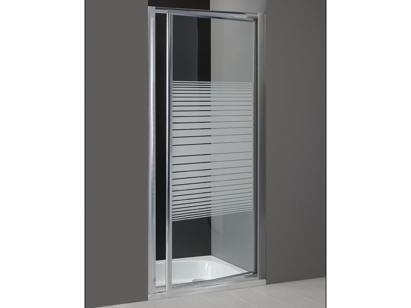 Lafiness Primero douchedraaideur 80x185 cm aluminium gelijnd