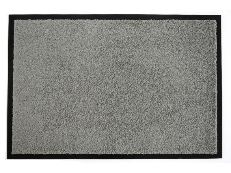 Prince paillasson antisalissures 60x90 cm gris
