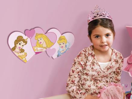 Princessen muursticker foam