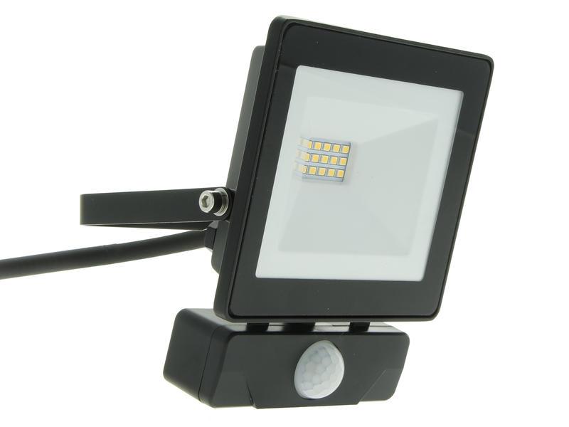 Select Plus Projecteur LED avec détecteur PIR 10W + câble