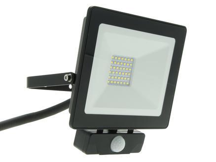 Select Plus Projecteur LED avec détecteur PIR 30W + câble