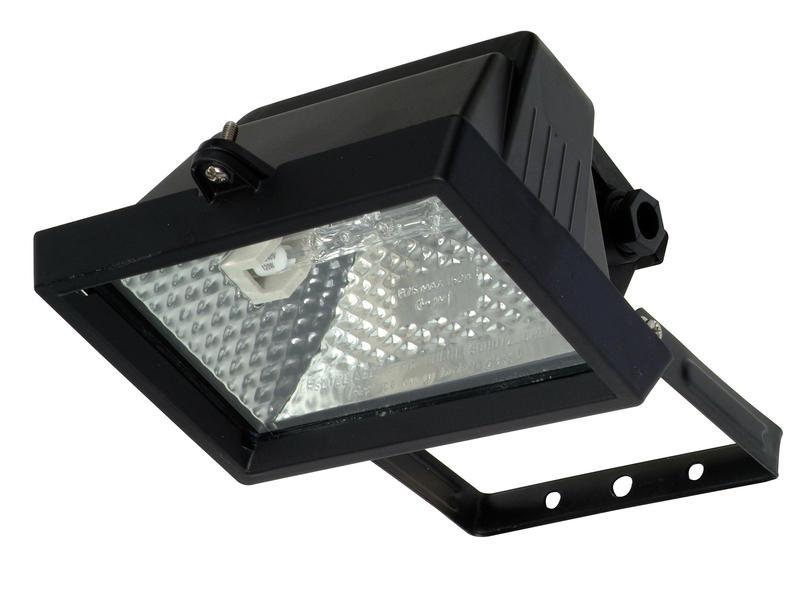 Prolight Projecteur halogène 120W carré noir