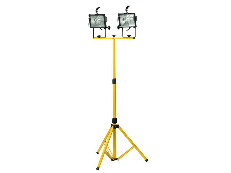 Profile Projecteur halogène sur pied 2x400W 8500lm