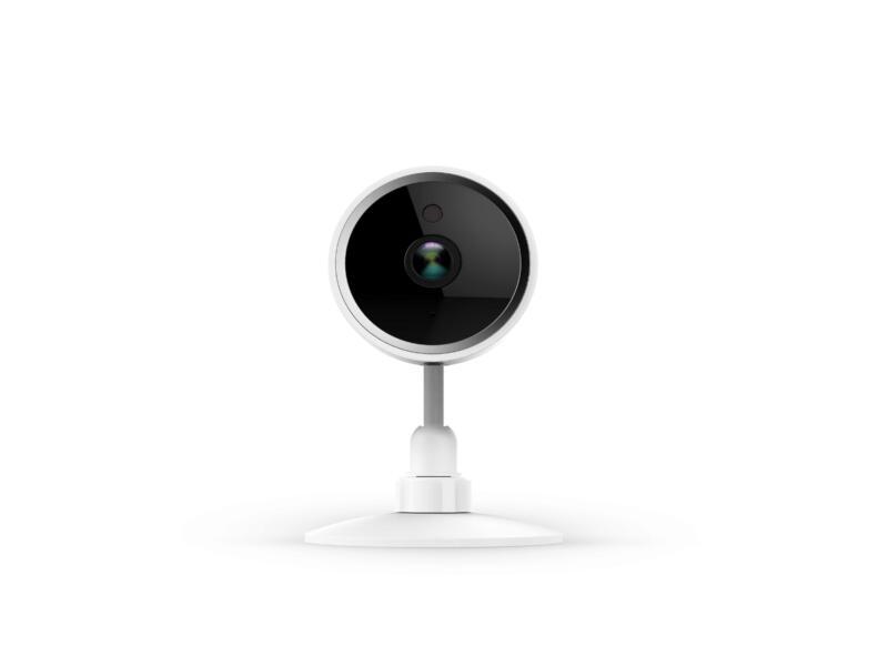 Qnect caméra intérieure 85° avec wifi et vision nocturne