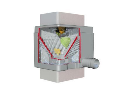 Garantia Quattro collecteur filtrant Gris