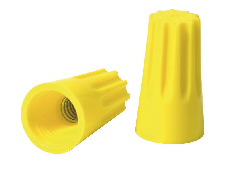 Raccord câble universel 3x 1,5 mm² jaune 6 pièces