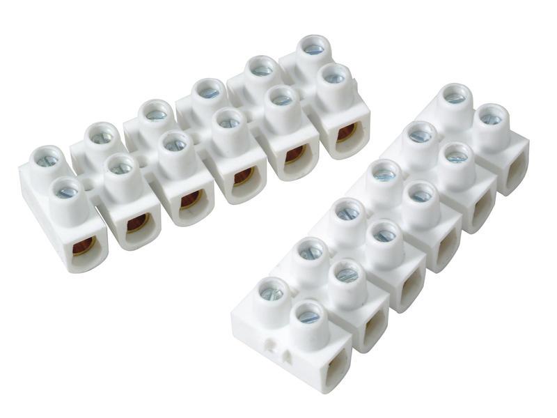 Profile Raccord de lustre 10mm² PVC 2 pièces