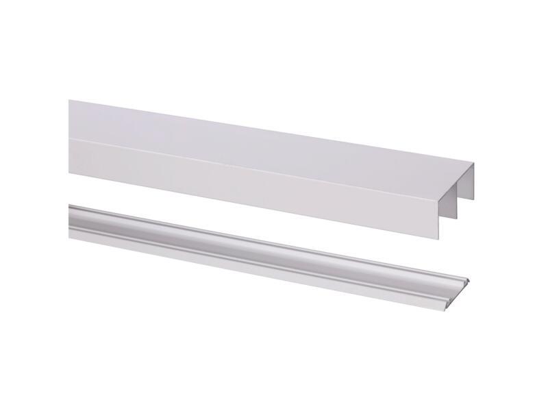 StoreMax Rail Basic R-40 360cm blanc