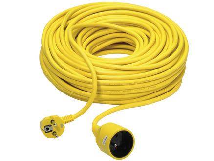 Rallonge 40m² 3G 1,5mm² jaune
