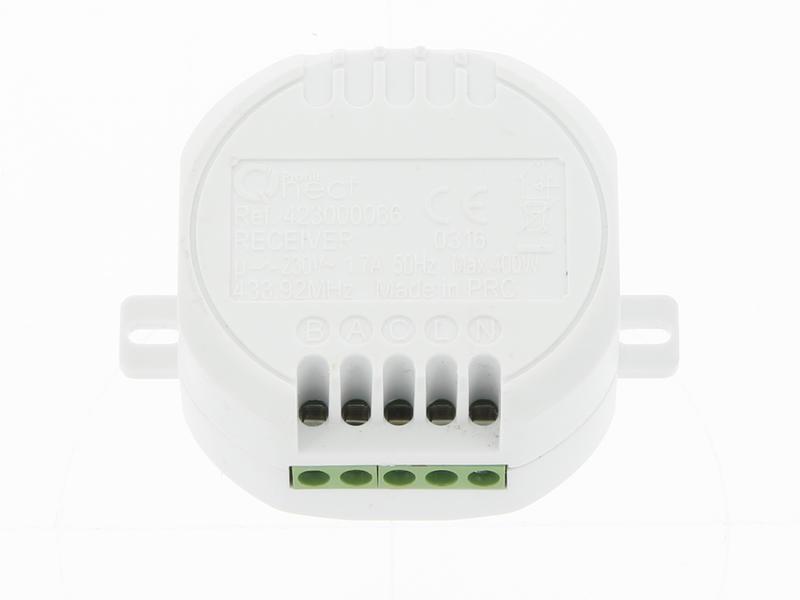 Profile Récepteur pour rideau/auvent 230/12/24 V blanc