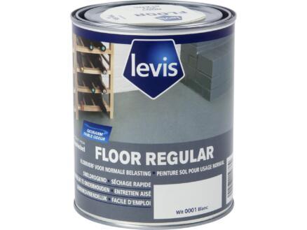 Levis Regular peinture sol satin 0,75l blanc