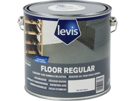 Levis Regular vloerverf zijdeglans 2,5l wit