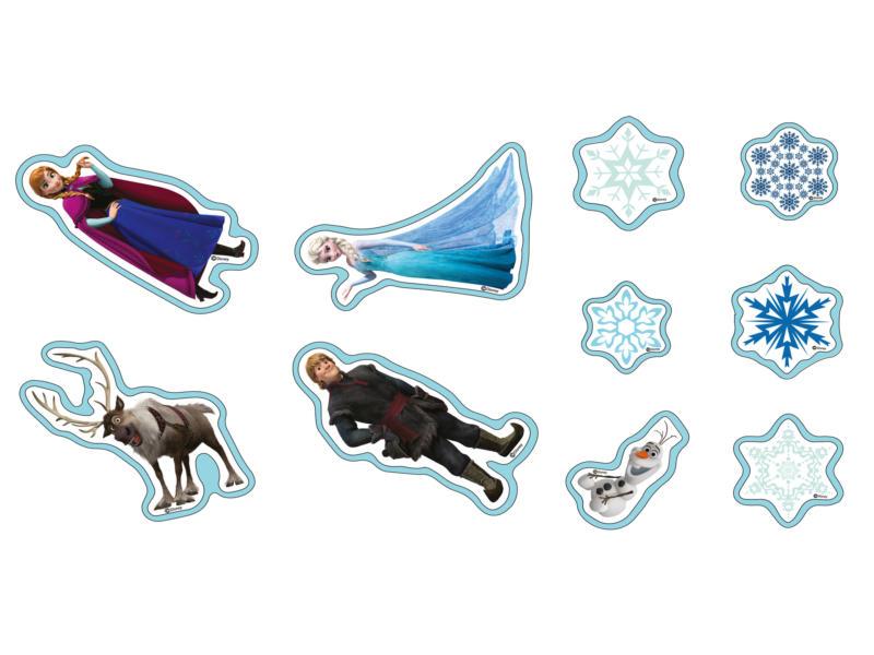 Disney Reine des neiges stickers mousse bleu 10 pièces