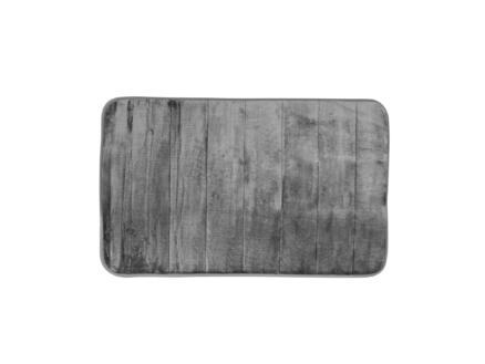 Differnz Relax badmat 60x40 cm grijs