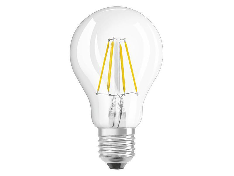 Osram Retrofit Classic 40 LED peerlamp filament E27 4W