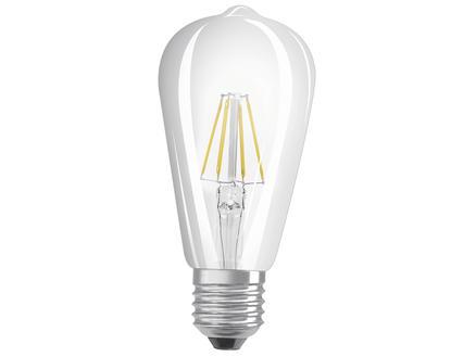 Osram Retrofit ampoule LED Edison filament E27 6W
