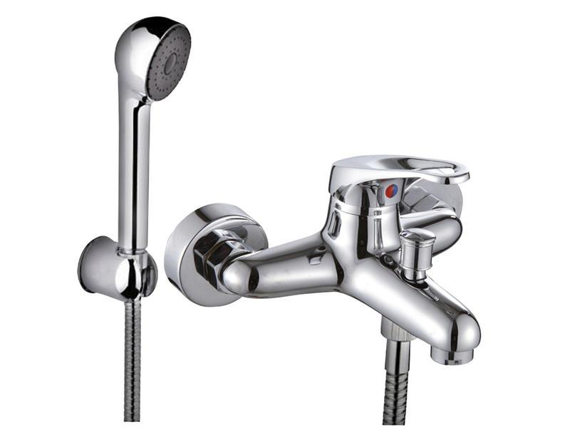Rimini robinet mitigeur baignoire et douche + douchette