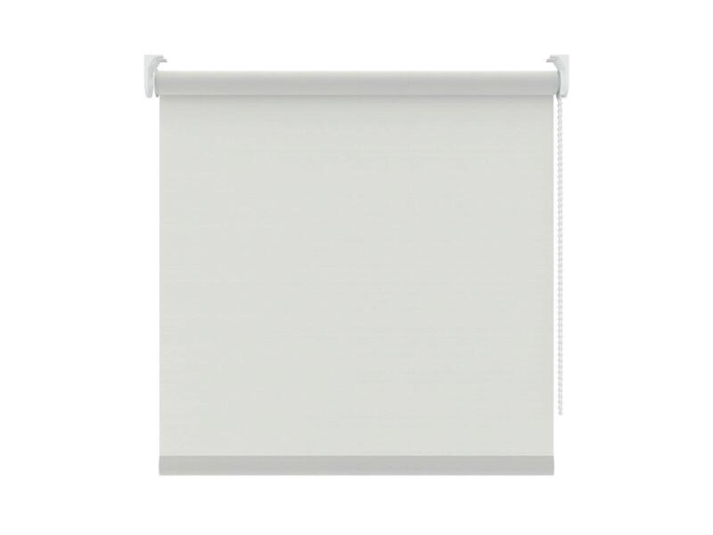 Decosol Rolgordijn lichtdoorlatend 150x190 cm ribbel wit