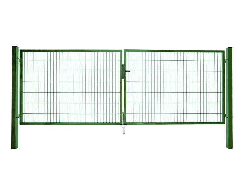 Giardino Roma Milano dubbele poort 400x180 cm groen