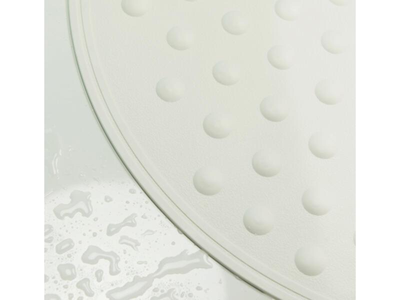 Sealskin Rotondo tapis antidérapant douche 50cm blanc
