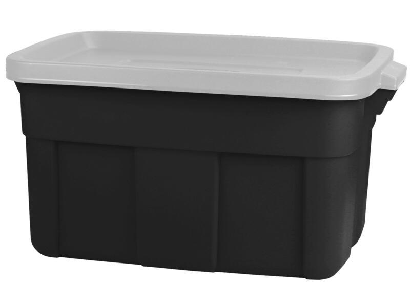 Curver Roughtote boîte de rangement 45l noir/gris