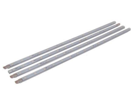 Prolight Ruban LED 1,2W 40cm blanc chaud 4 pièces