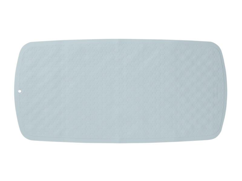Sealskin Rubelle tapis antidérapant baignoire 75x37 cm bleu
