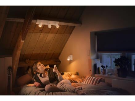 Philips Hue Runner LED balkspot GU10 3x5,5 wit + dimmer
