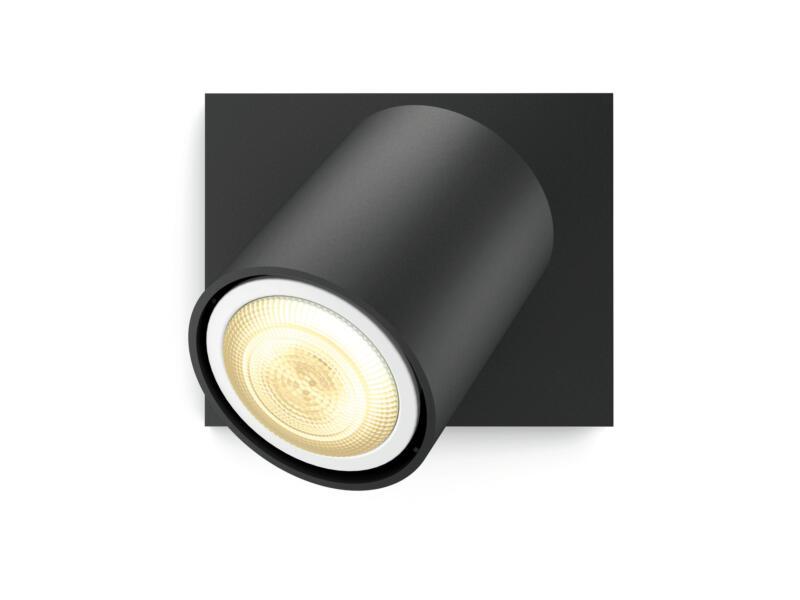 Hue Runner LED wandspot GU10 5,5W zwart